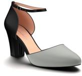 Women's Shoes Of Prey Block Heel D'Orsay Pump