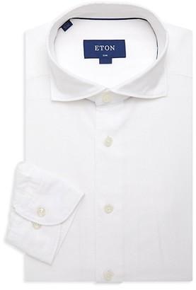 Eton Soft Casual Slim-Fit Cotton-Blend Shirt