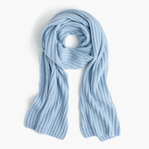 J.Crew Ribbed cashmere scarf