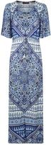 Hale Bob Paisley Print Maxi Dress