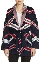 Maje Belted Kimono Cardigan