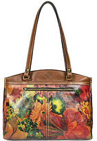 Patricia Nash Heritage Print Collection Poppy Floral Satchel
