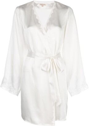 Morgan Lane Langley silk robe