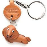 Vanca Craft Dachshund Longhair Keychain
