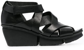 Trippen Condense 65mm intertwined-strap leather sandals