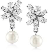 Carolee Cluster Drop Earrings