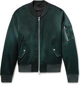 Ami - Satin Bomber Jacket