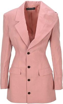 Y/Project Asymmetric Blazer Dress