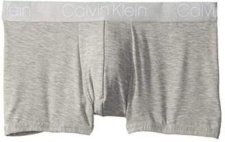 Calvin Klein Underwear Ultra Soft Modal Trunks (Grey Heather) Men's Underwear