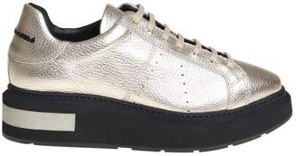 Manuel Barceló sneakers In Leather Color Gold