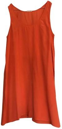 American Vintage \N Orange Silk Dress for Women