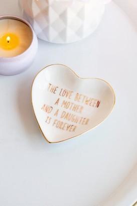 francesca's Love Mother Trinket Dish - Gold
