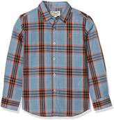 Original Penguin Boy's Madras Long Sleeve Shirt