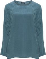 Via Appia Plus Size Straight cut blouse