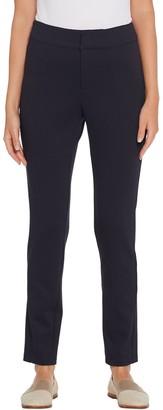 Martha Stewart Petite Knit Twill Ankle Length Pants