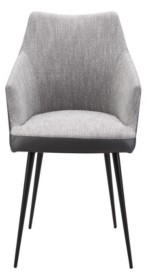 Moe's Home Collection Beckett Dining Chair Gray