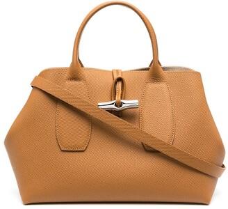Longchamp medium Roseau top handle bag