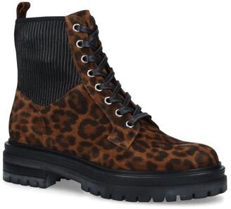 Gianvito Rossi Leopard Print Martis Boots 20