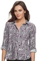 Rock & Republic Women's Twill Shirt