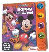 Disney Mickey Mouse Club Happy Halloween Little Pop-up Sound Book