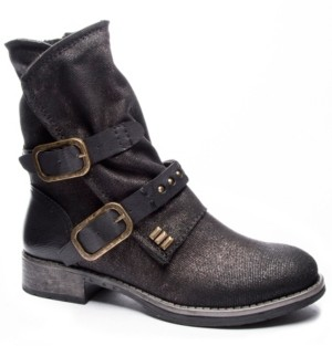 Chinese Laundry Tycen Canvas Booties Women's Shoes