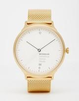 Mondaine Helvetica Gold Stainless Steel Watch - Gold