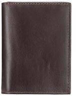 John Lewis Paisley Leather Shirt Wallet, Brown