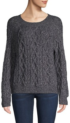 Vince Cable-Knit Merino Wool-Blend Sweater