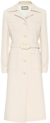 Gucci Belted wool coat