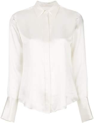 Nili Lotan Lledia slim-fit silk shirt