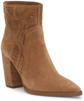 Vince Camuto Catheryna Laser-cut Bootie