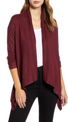 Bobeau Amie Waterfall Knit Cardigan