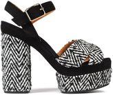 Castaner Patterned Platform Sandals