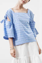 J.o.a. Striped Blouse