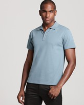 Theory Classic Pique Leopold Slim Fit Polo