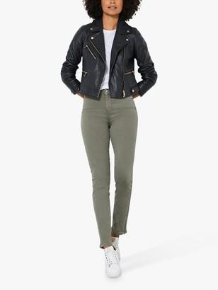 Mint Velvet Houston Zip Cuff Slim Jeans