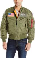Alpha Industries Men's Ma-1 Flex Bomber Jacket