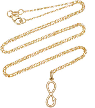 With Love Darling Infinity 14K Gold Necklace