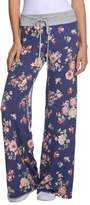 Wide Leg Trousers Changeshopping Women Cool Lovely Floral Printed High Waist Pants (M, )