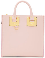 Sophie Hulme Pink Square Albion Tote