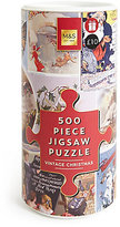 Marks and Spencer 500 Piece Jigsaw Puzzle Vintage Christmas