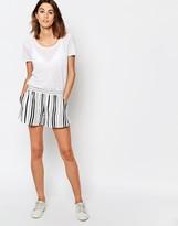 Vila Relaxed Stripe Short
