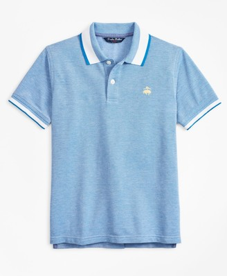 Brooks Brothers Boys Short-Sleeve Cotton Pique Polo Shirt