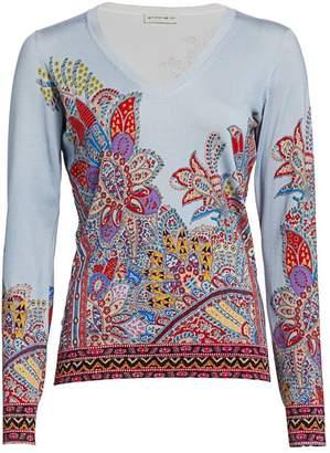Etro Dreamtime Paisley Sweater