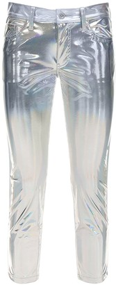 Junya Watanabe Metallic Coated Pants
