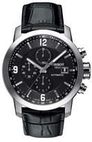 Tissot PRC200 Chronograph Leather Strap Watch, 43mm