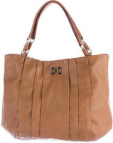 Anya Hindmarch Pleated Leather Tote
