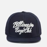 Billionaire Boys Club Men's Script Logo Snapback Cap - Navy