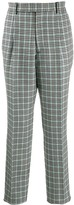Alexander McQueen houndstooth check trousers