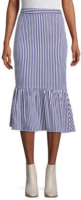 MDS Stripes Gracie Stripe Skirt